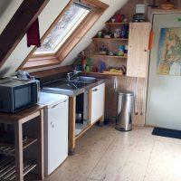 Atelier aan Zee kitchenette
