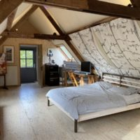 Atelier aan Zee sleeping area